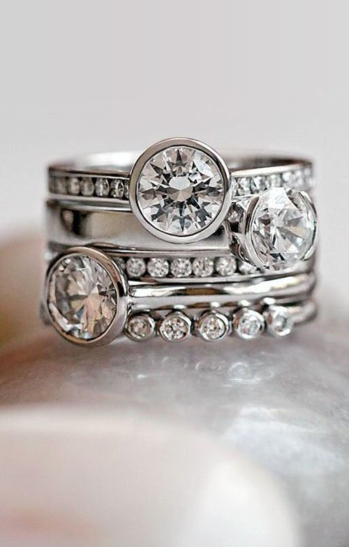 more pin pinteres stacked rings pinterest