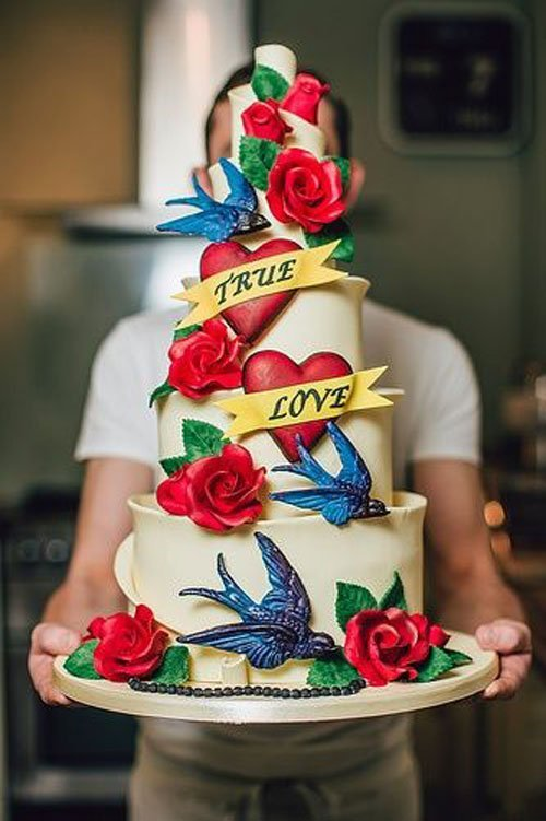 By Ben the Cake Man | Photo by Steve Gerrard