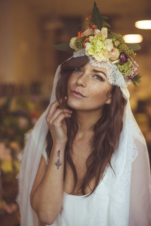 Photo by Camille Marciano for Junophoto   Via Amanda Michel of Trendy Wedding