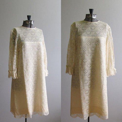 1960's Wedding Dress