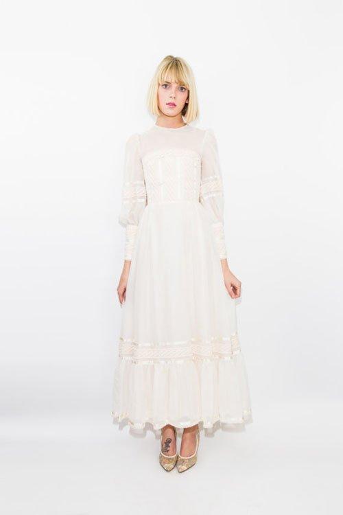 Early 1900's Wedding Dress