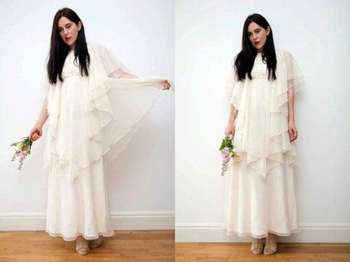 1970's Wedding Dress
