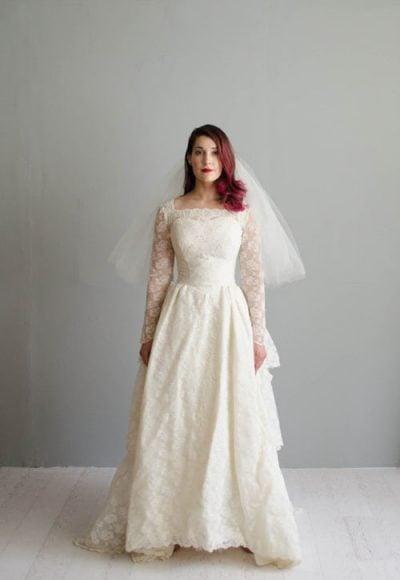 12 Vintage Wedding Dresses We Love