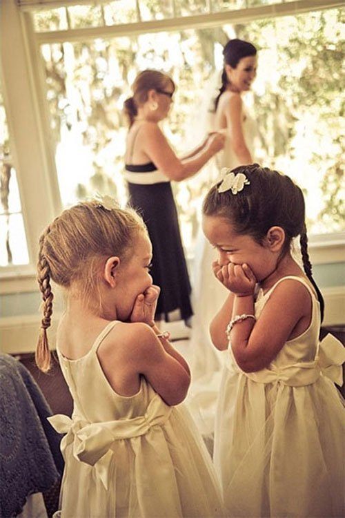 Get Ready With Your Flower Girls