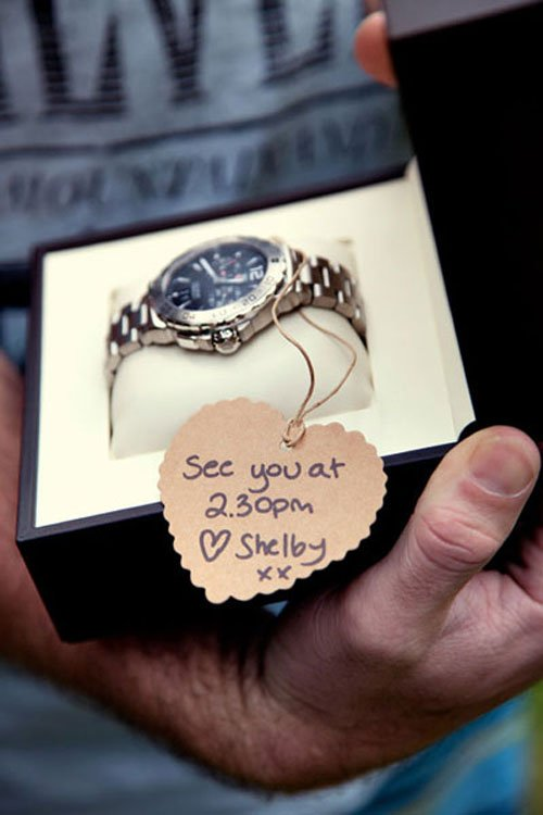 A Photo of Your Groom Gift
