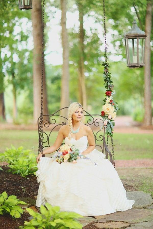 d1f4bff176 Wedspiration  A Southern Summer Wedding