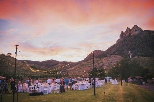 Saddlerock Ranch Wedding.Saddlerock Ranch Wedding Venue