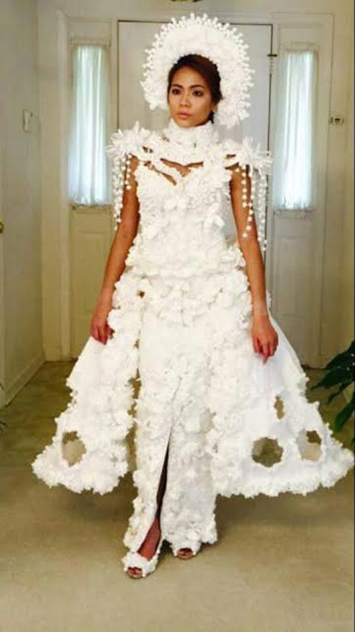 Toilet Paper Wedding Dress Kleinfeld