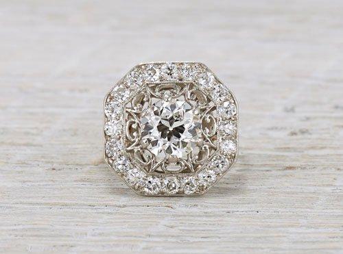1.53 carat vintage Tiffany & Co.
