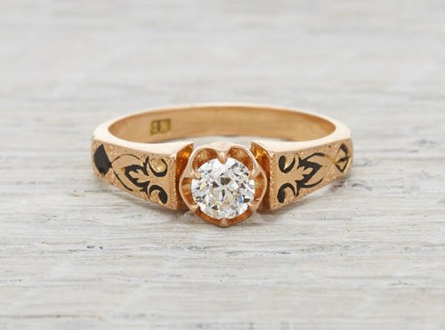 .35 carat gold Victorian