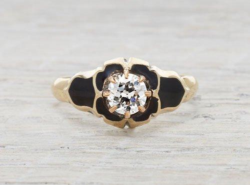 .57 carat gold Victorian