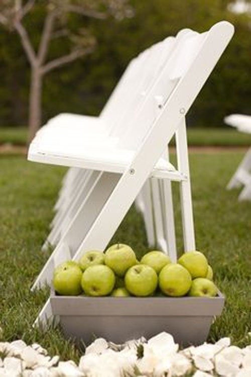 Put Out Baskets of Apples