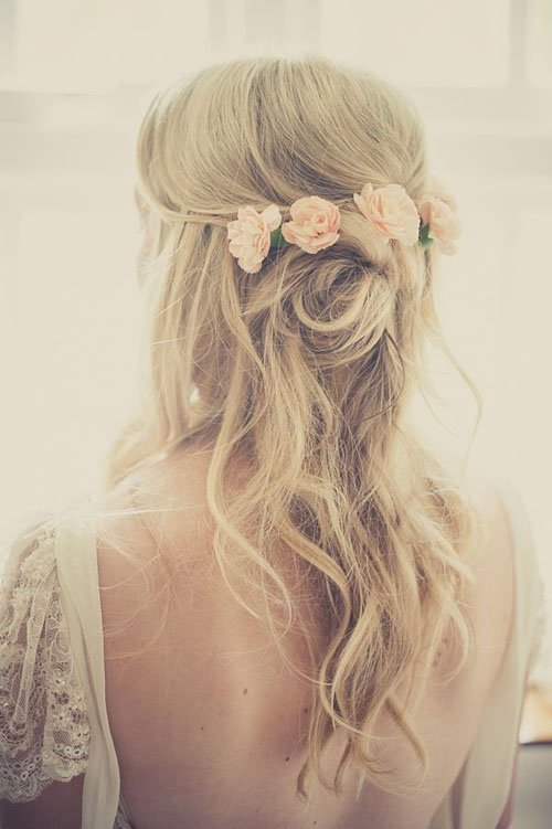 Swell 13 Half Up Half Down Wedding Hairstyles To Try Now Natural Hairstyles Runnerswayorg