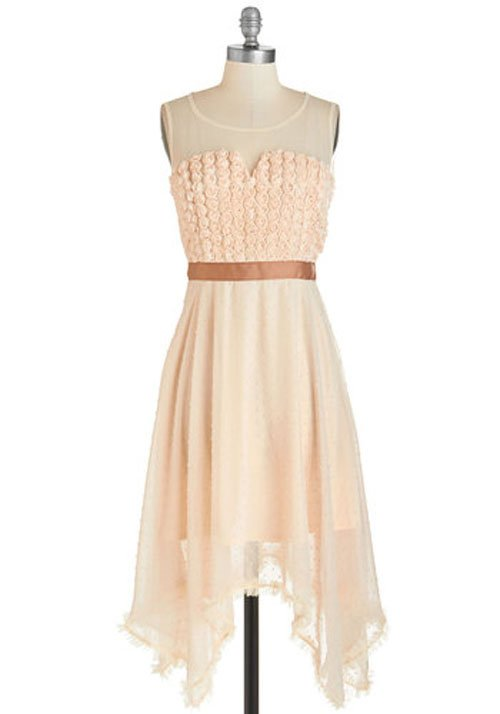 ModCloth's 'Rosette Yourself Apart Dress' by Ryu, 4.99