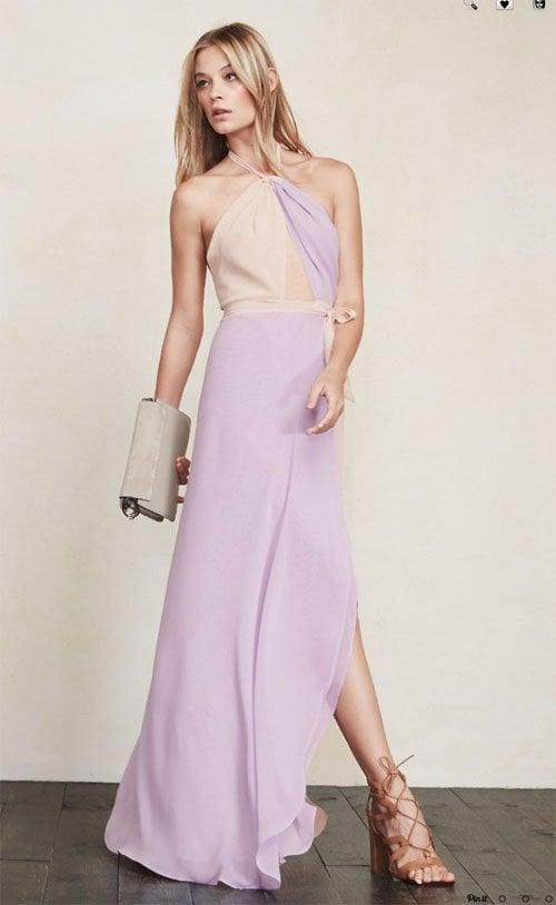 bridesmaid dresses purple