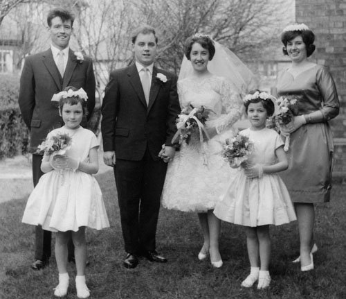 Our Favorite 1960\'s Wedding Dresses