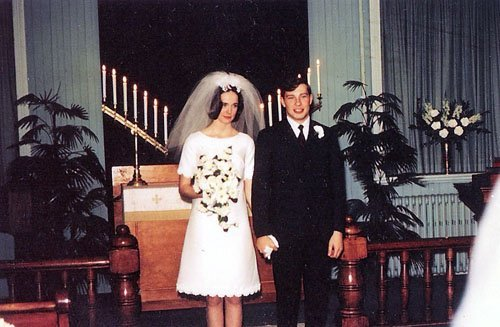 Our Favorite 1960's Wedding Dresses