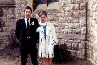 1960 wedding dress