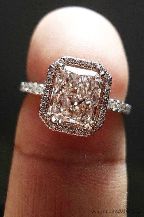 the best halo engagement rings - Halo Wedding Rings