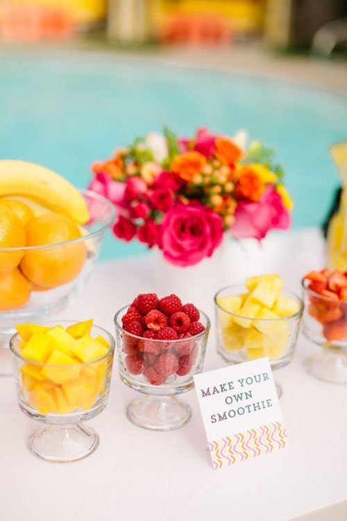 16 Fun Ideas For Bridal Shower Food