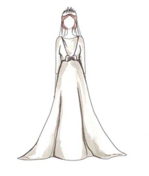 1/18/1969 - M. Andrea Dotti - Designed by: Hubert de Givenchy. Illustrations by Pauline Dujancourt via  Vashi