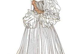 celebrity wedding dress