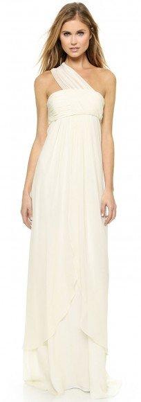 Rachel Zoe Elle Empire One Shoulder Gown • Rachel Zoe • $695