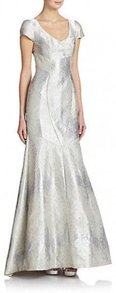 Theia Brocade Mermaid Gown • Theia • $246.76