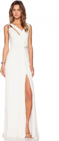 Halston Heritage Draped Cowl Back Gown • Halston • $425