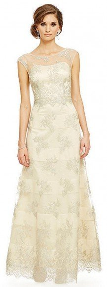 Kay Unger Metallic Lace Ball Gown • Kay Unger • $220.01
