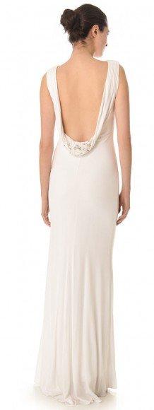 Badgley Mischka Collection Cowl Back Gown • Badgley Mischka • $595