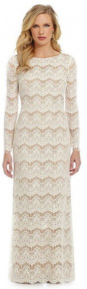 Jessica Howard Striped Lace Sheath Gown • Jessica Howard • $50.40