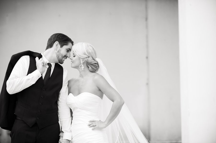 A Black and White St. Petersburg Wedding