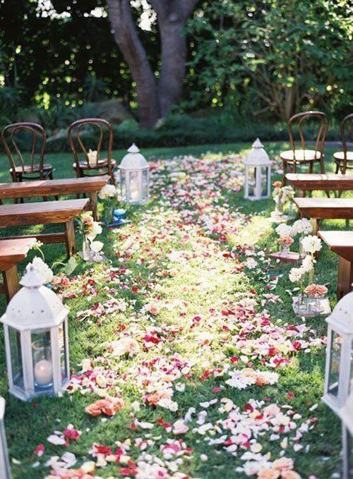 Ideas For A Garden Wedding