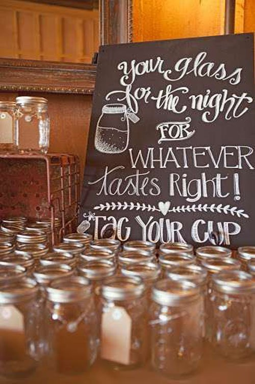 Wedding Favor/Beverage Holder