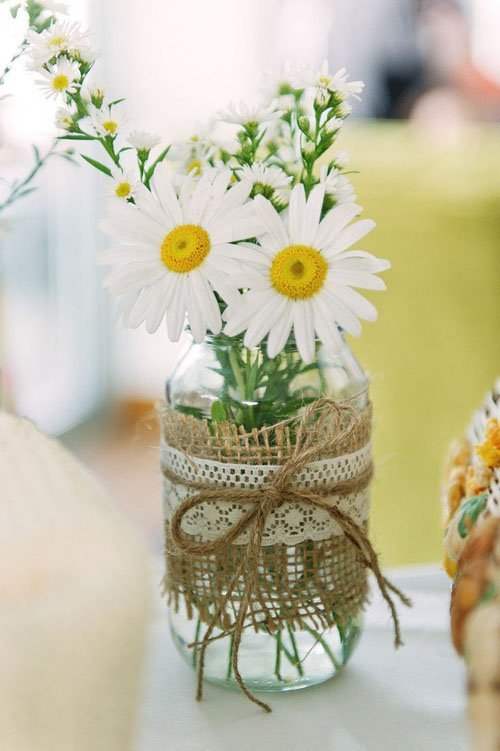 16 Mason Jar Crafts and Ideas for Weddings