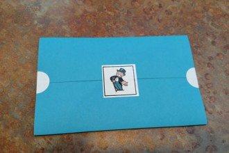 monopoly wedding invitations