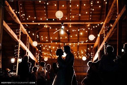 18 Amazing Ways to Use Wedding Lights