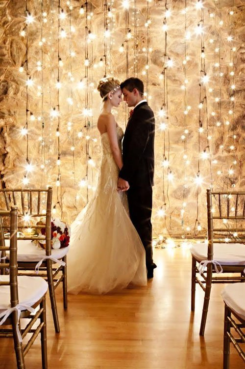 18 Amazing Ways To Use Wedding Lights