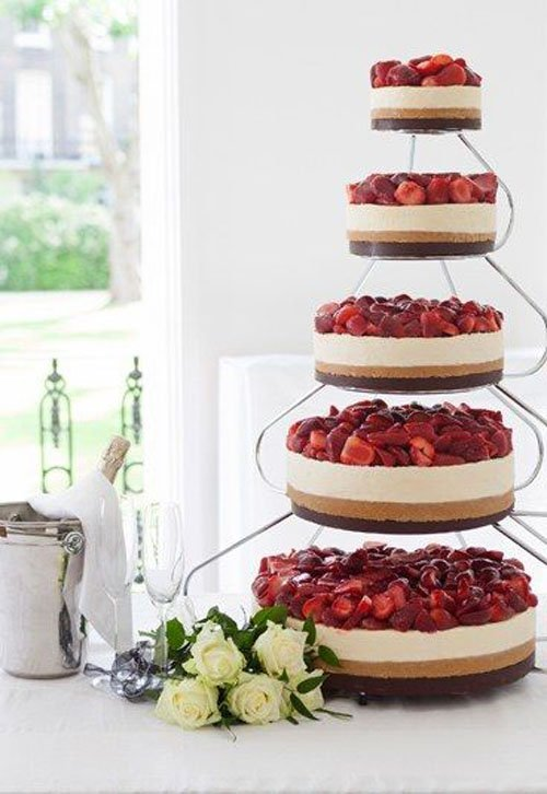 Tiered Cheesecake