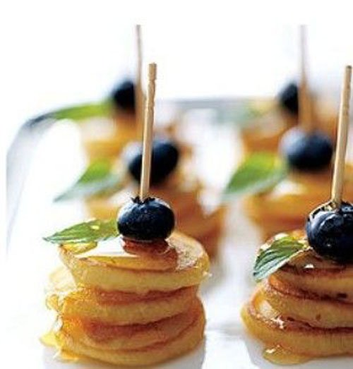Mini Pancake Stack
