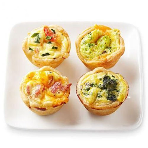 Mini wedding food that is almost too cute to eat for Decoration quiche
