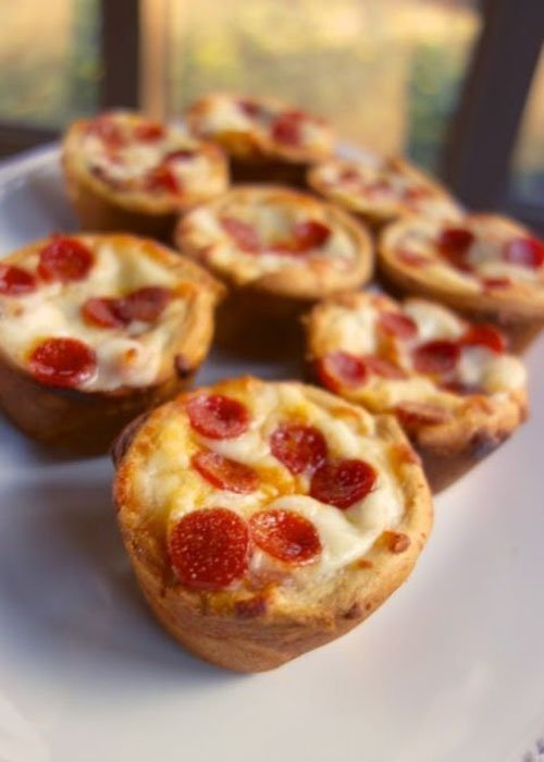 Mini wedding food that is almost too cute to eat mini pizzas junglespirit Image collections