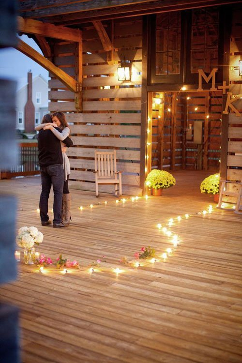 28 of our favorite wedding proposals woman getting married - How to decorate your home ...