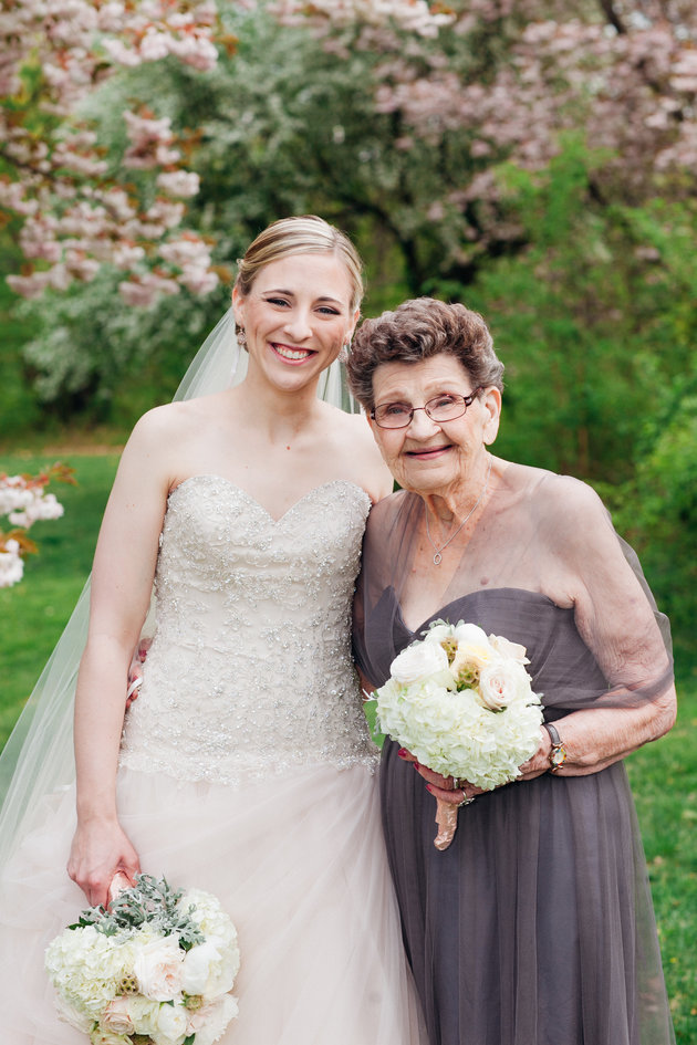 grandma-bridesmaid