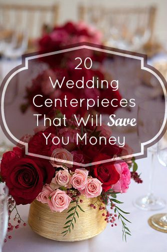 20 budget friendly wedding centerpieces pinterest centerpieces junglespirit Image collections