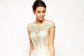 14 Incredibly Stylish Short Wedding Dresses