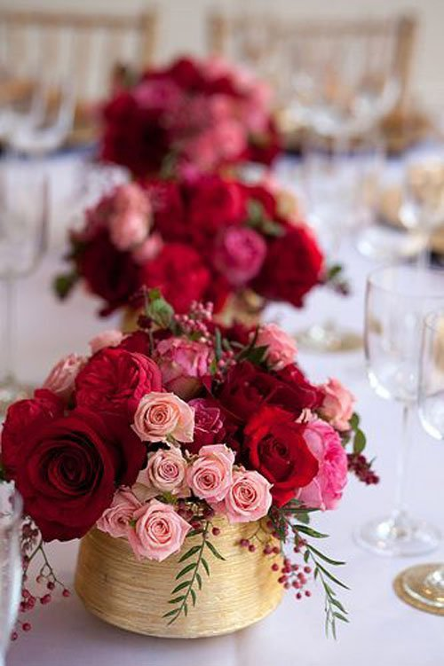 20 budget friendly wedding centerpieces simple wedding centerpieces 011 junglespirit Images