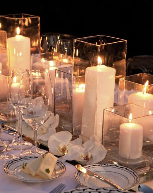 Budget friendly wedding centerpieces