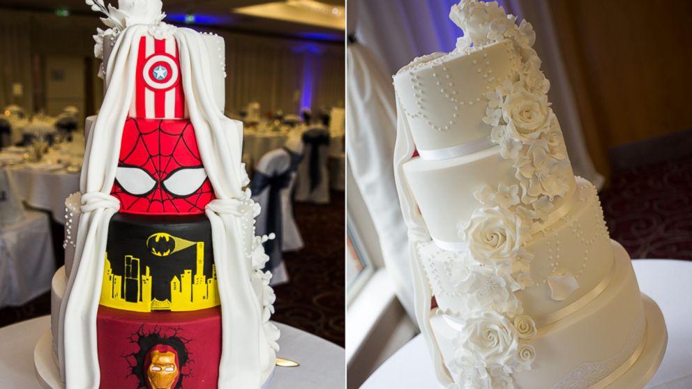 We love this surprise wedding cake photo by john doran junglespirit Image collections